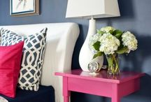 nAVY and pINK / by Shirley Browning