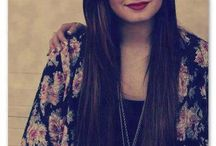 Demi Lovato long hair *--*