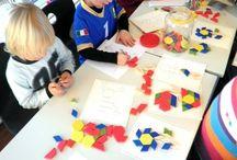 Matematikk i barnehagen / Barn er tidlig opptatt av tall og telling, de utforsker rom og form, de argumenterer og er på jakt etter sammenhenger. Gjennom lek, eksperimentering og hverdagsaktiviteter utvikler barna sin matematiske kompetanse. Barnehagen har et ansvar for å oppmuntre barns egen utforskning og legge til rette for tidlig og god stimulering (Rammeplanen for barnehagen).