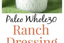 Whole30 dressing & sauces