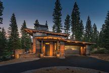 Modern mountain houses