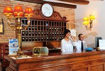 Arbatasar hotel / The Arbatasar is a 4 star hotel located in the center of Arbatax, in the pristine territory of the Ogliastra region, on Sardinia's Eastern coast