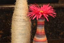 vázy a láhve
