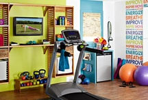 Gym Makeover / Ever wanted a gym area in your home? Here's some ideas! / by Publishers Clearing House