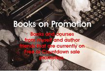 Books & Courses on Promotion / Notices of books and courses by myself and writer friends that are going on Amazon Kindle promotion either Free or Countdown sale. Also launches etc. Where possible I will give advance notice.