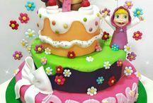 Torte Masha e Orso / Torte Masha e Orso