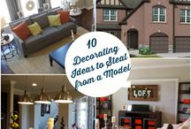 Decorating Ideas / by Hooked on Houses