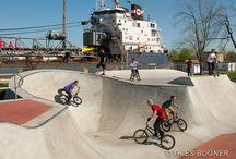 Skatepark / Patterned Concrete's Skatepark Portfolio