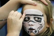 starwars facepaint