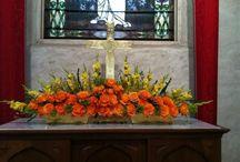 Fleurs de l'autel