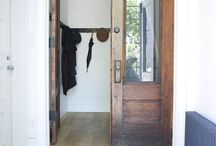 Entry / Two entryways to re-do. Ideas for both entry and mud room plans.