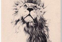 Lion tatoo