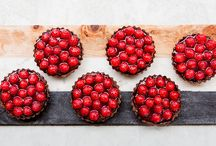 Dairy free chocolate and raspberry tarts