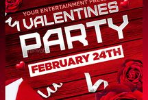 25 Beautiful Valentine's Day Party Flyer Templates / Invite everyone to a party to celebrate your love. Let them know your sweet love. Beautiful Valentine Party Flyer Templates added to this post, will be useful to host a night party.