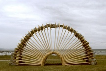 Earth Art / Using Nature's materials to create art in the Landscape