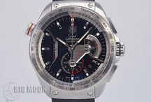 BIGMOON Tag heuer Watches / A board of our newest arrivals of pre-owned Tag heuer watches.