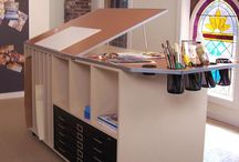 Crafty-Studios-Work Tables / by Dee