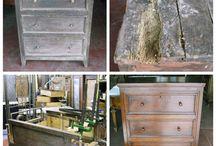 Restauro mobili. / Restauro mobili