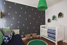 Bedrooms for Boys / On trend kids room ideas for boys.