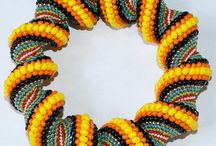 Beaded spiral No 3