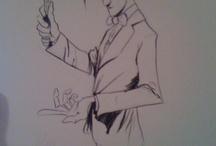 Doctor Who Art with Bow Ties / Bow ties are cool -- see http://www.bowtieaficionado.com/2014/01/06/doctor-who-bow-ties/ / by Bow Tie Aficionado