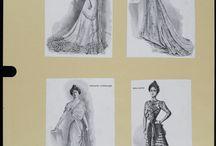 1900's Robe du soir, de bal