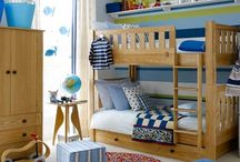 Boys Bedroom ideas / Ideas for the boys bedroom when we get bunk beds! Whole room needs redecorating/updating