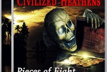 TWO WORLDS COLLIDED / All about Two Worlds Collided. Meet the band, Uncivilized Heathens. Check out their CD covers. What actors should play the parts in Two Worlds Collided?