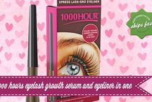 Introducing 1000 Hours Eyelash Growth Serum and Eyeliner in One / Been dreaming of having long gorgeous lashes? 1000 hours has just released an eyelash growth serum and eyeliner in one tube.