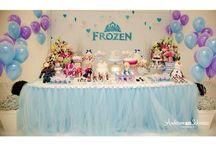 Festa Frozen 2! Trigêmeas