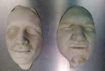 Plaster of Paris - faces