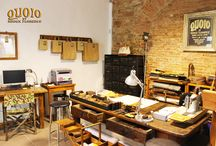 QUOIO LEATHER WORKSHOP / Create and customize unique and exclusive leather accessories and meet every need of style and personal taste, to enhance and complement your own image with items made with care and passion by using leather of the finest quality.