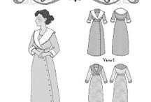 Women's Patterns by Hint of History / Vintage-inspired sewing patterns