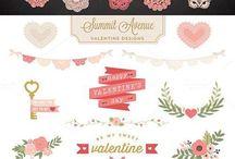 Valentine Day Graphic pack