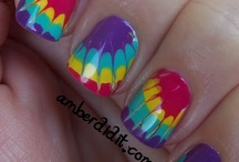 Nails - Needles and Tie Dye