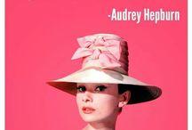 Audrey <3 / My favorite fashion icon...
