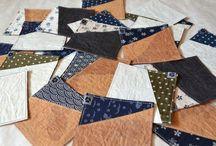 Untersetzer / Untersetzer aus japanischen Stoffen von NORIKO handmade