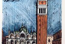 Bernard Buffet , French artist (1928-1999)