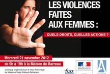 Affiches violences faites aux femmes