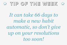 Resolutions, goals and quotes