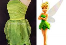 Tinkerbell womans costume
