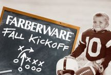 Farberware® Fall Kickoff / What's your game plan for fall fun? Celebrate the season with the Farberware® and join us all season long for game-winning recipes, fumble-proof foodstuffs and good old fashioned fun.