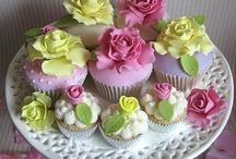 Romantisch cupcakes