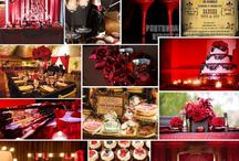 Moulin Rouge/ Burlesque bridal shower / by Jade Leandra