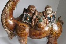 Tang pottery/ porcelain ( 618 - 907 dc )