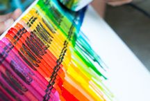 crayon days / memories from the days when crayons were the coolest thing on the planet