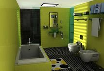 Bathroom Painting / Bathroom Painting, People may think of renovating their bathroom, when they are boring from their old bathroom design, and they look forward new innovation and decorating bathroom ideas. Bathroom painting is an easy and most effective way to renovate your bathroom. You may walk up some time and feel boring from your old bathroom designs, so make your bathroom look more feeling and make a new bathroom makeover in a cheap, easy, and fast way by painting new colors in your bathroom. / by bathroom designs 2016 - bathroom ideas 2016 .