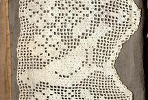 Muestrario crochet  1930