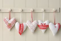 Hearts / by Bronwyn Hayes designer for Red Brolly