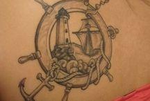 Nautical and Ocean Tattoos